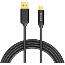 Кабель Tronsmart USB3.0-Type-C 1m CPP9 Nylon Cable Black
